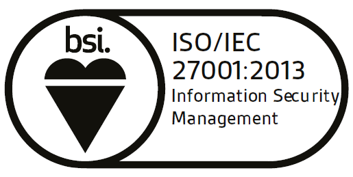 Accreditations ISO27001 2005 2014 logo