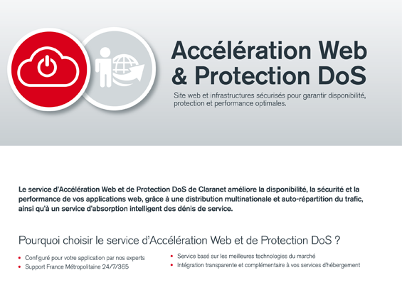 Accélération Web & Protection DoS